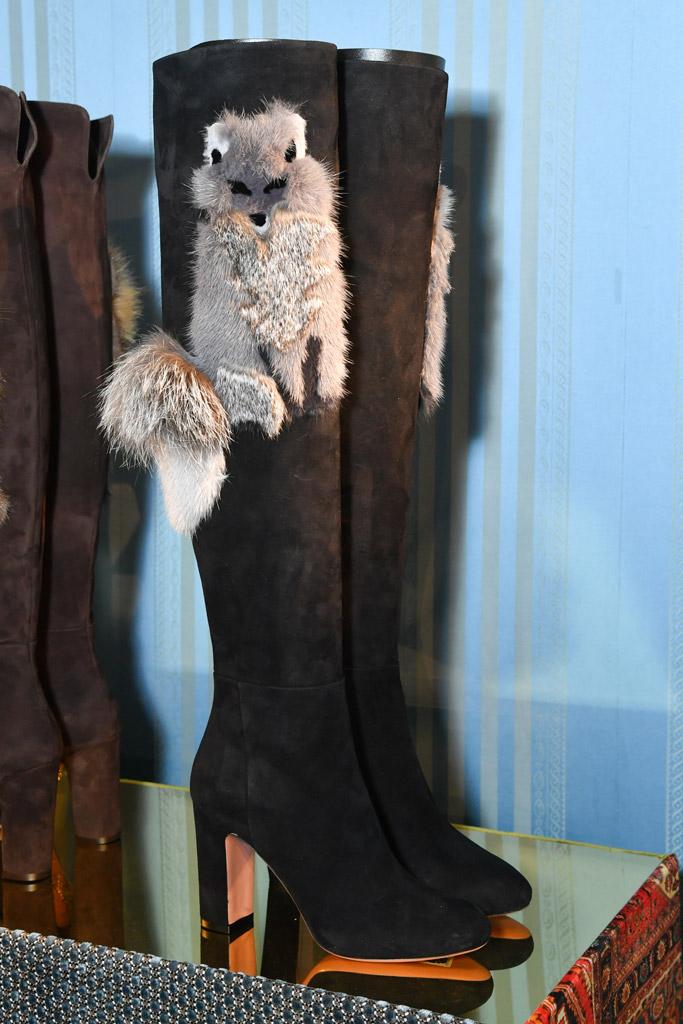 Aquazzura shoes Paris Fashion Week Fall 2017