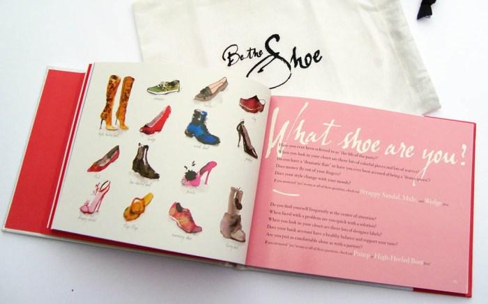 be the shoe book Kathy Kelada