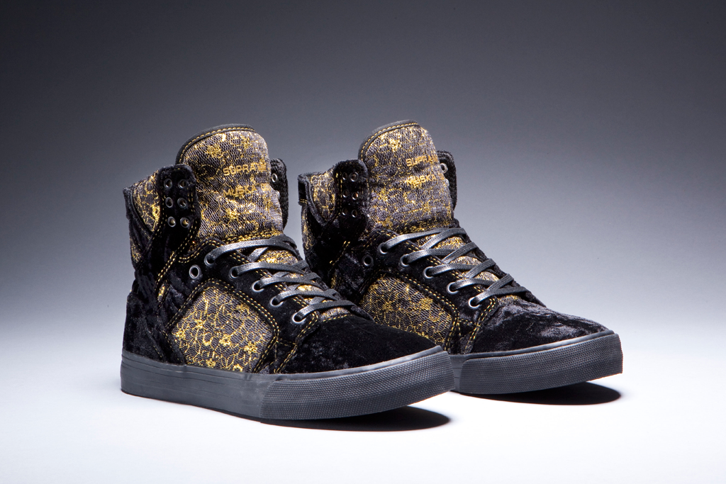 Beauty and the Beast Supra Shoes