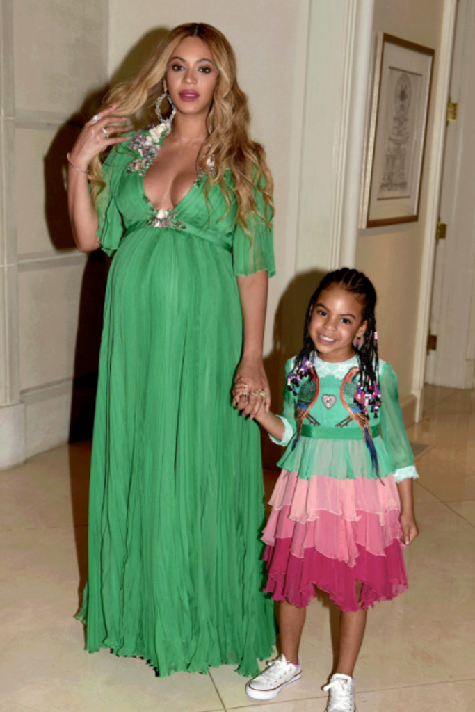 Beyoncé Blue Ivy Jay Z Beauty and the Beast Premiere