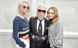 Chanel Front Row Celebrities