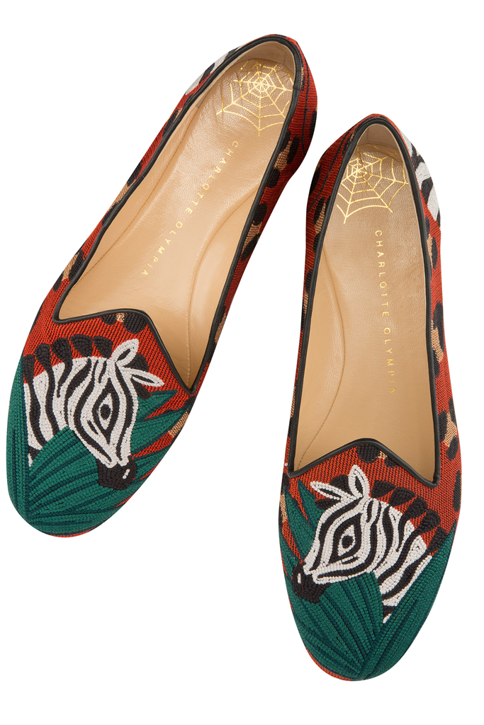 Charlotte Olympia Wish You Were Here Slippers