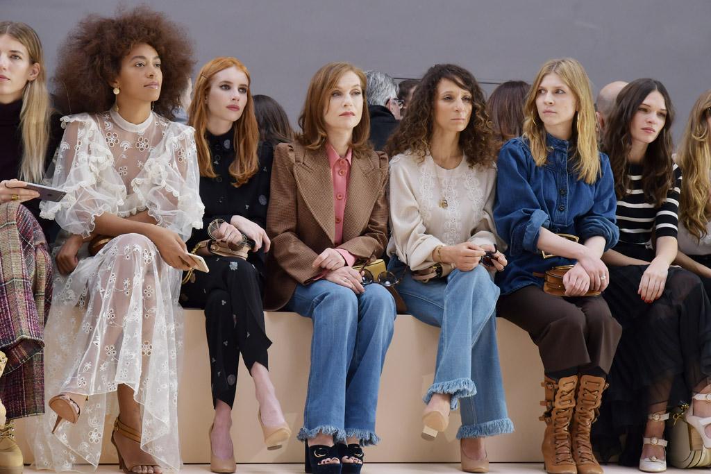 Front Row Chloé Fall 2017