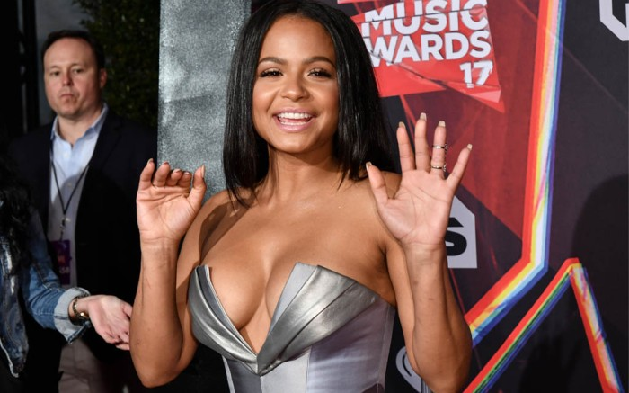christina milian iheartradio music awards 2017 red carpet