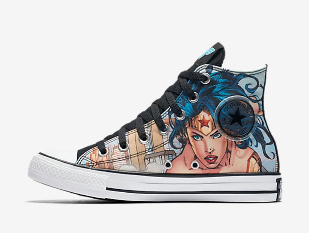 chuck taylor wonder woman shoes