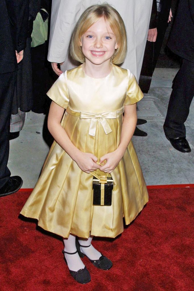 Dakota Fanning 2001 I Am Sam Premiere