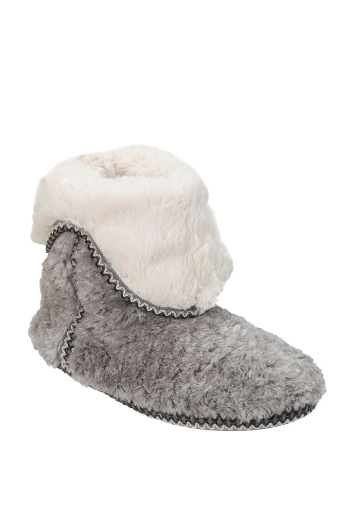 Cozy gray slippers fall '17