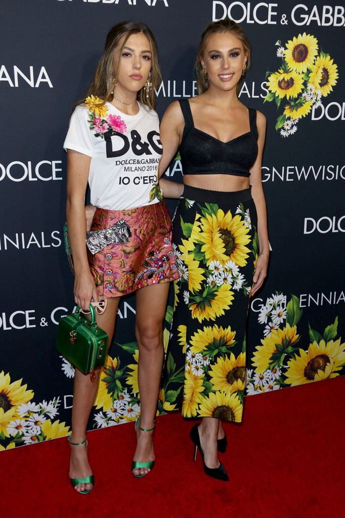 Dolce & Gabbana New Vision Party Celebrity Style