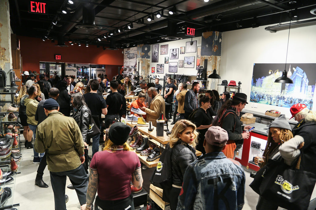 Dr Martens Opens Herald Square New York Flagship Store Footwear News