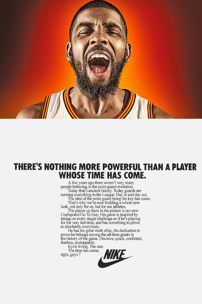 Vintage-Inspired Nike Ads
