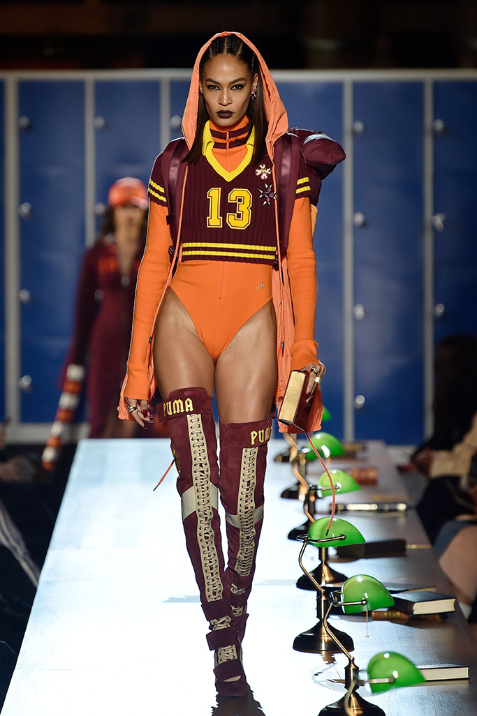 Fenty x Puma By Rihanna fall '17 collection.