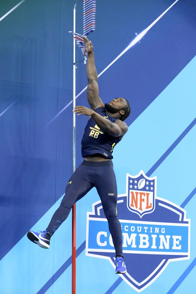 Running back Dalvin Cook Nike NFL Combine