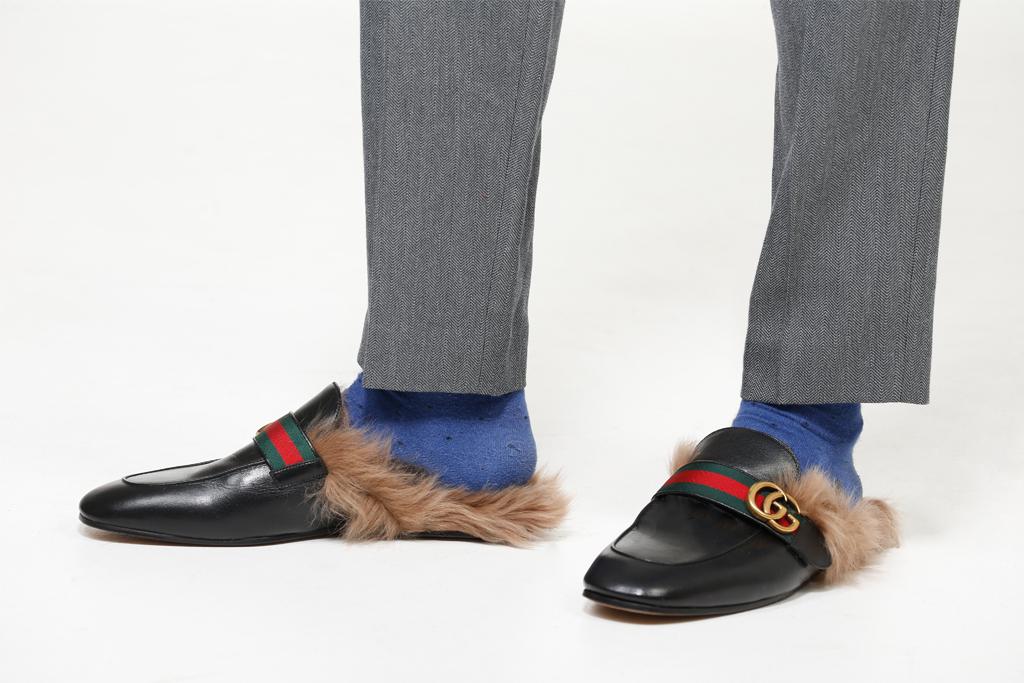Test The Trend: Men's Fur-Lined Shoes