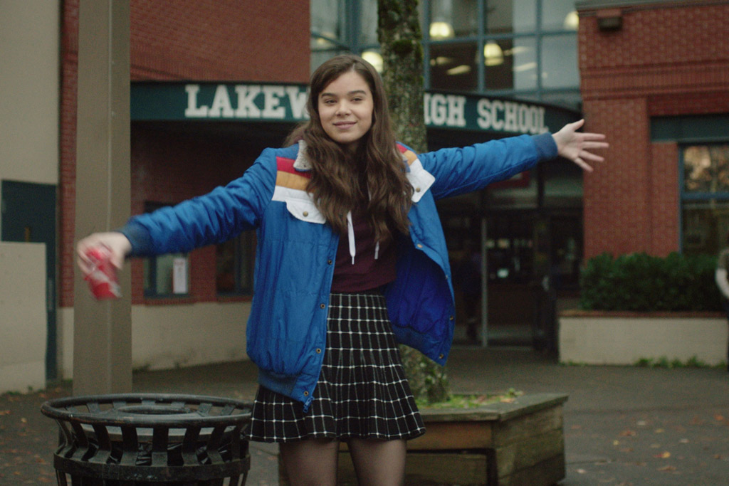Hailee Steinfeld Edge of Seventeen movie