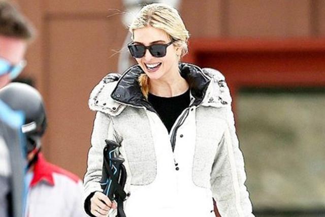 Ivanka Trump Skiing Aspen