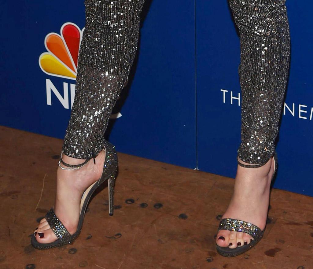 jennifer lopez sandals high heels shades of blue
