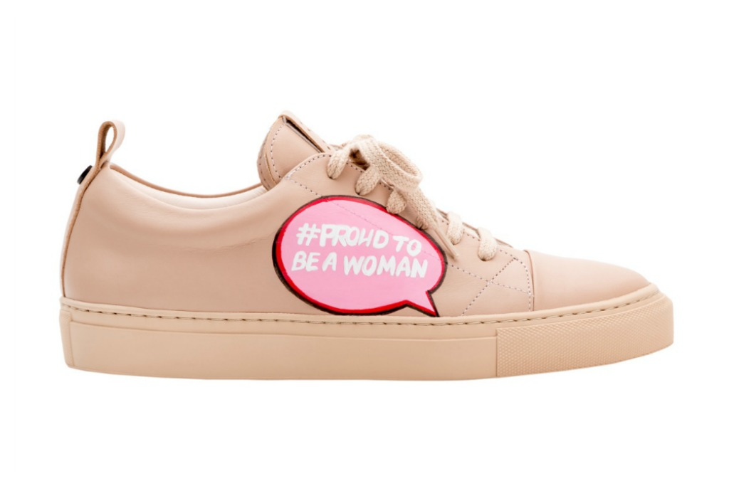 josefinas proud to be a woman sneakers