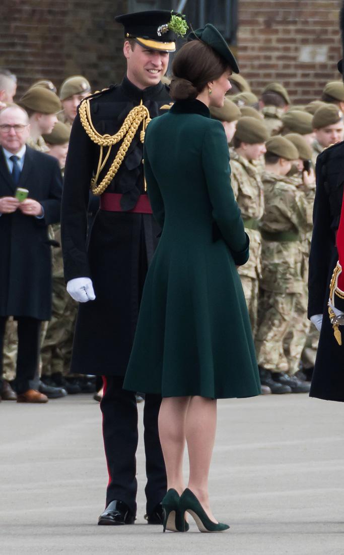 Kate Middleton St. Patrick's Day Style
