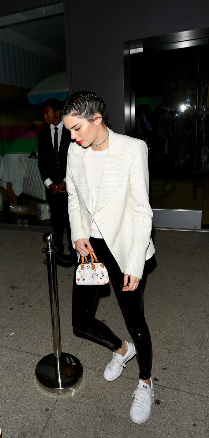 Kendall Jenner adidas raf simons sneakers