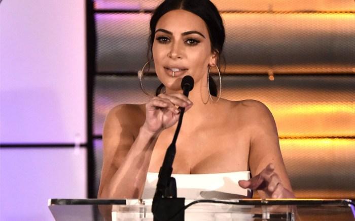 Kim Kardashian West rick owens 2017 Family Equality Council Impact Awards Bunim murray