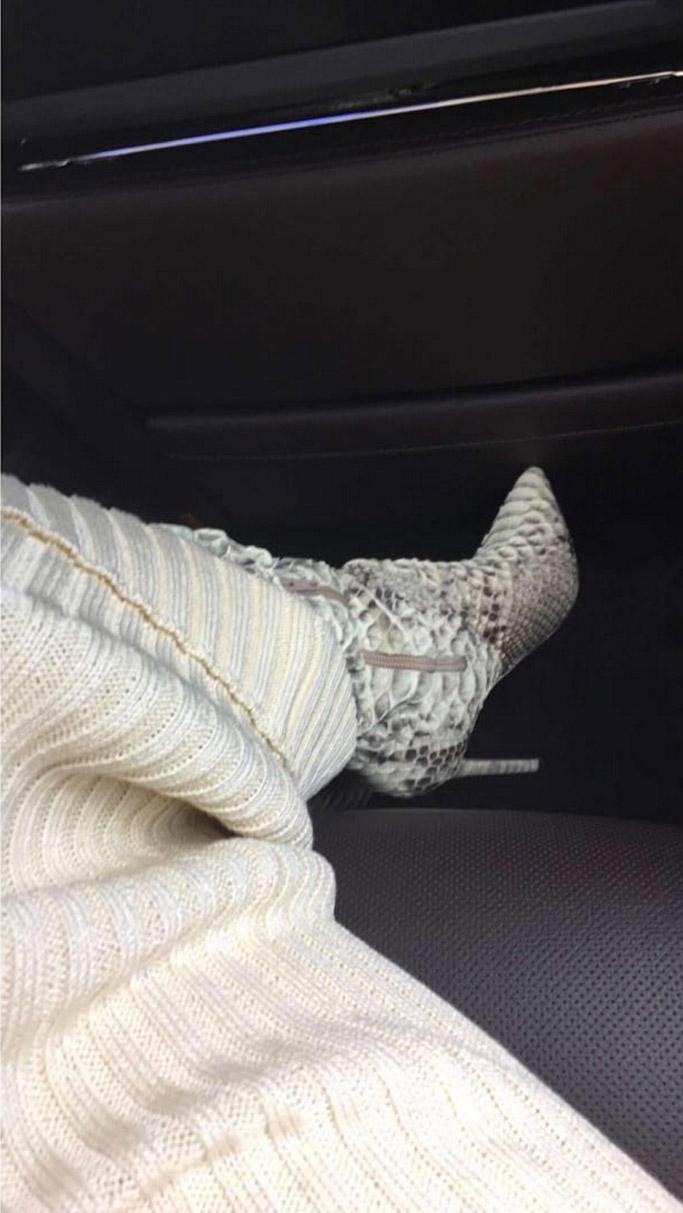kim karadshian west python boots snakeskin yeezy