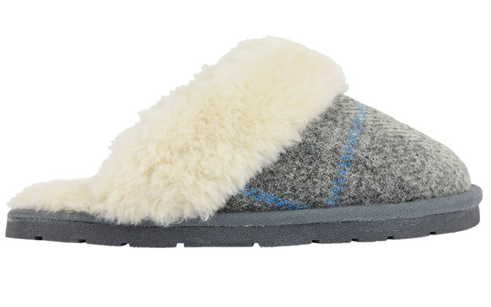 Gray slippers fall '17