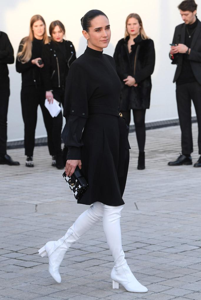 Jennifer Connelly Louis Vuitton Front Row Celebrities