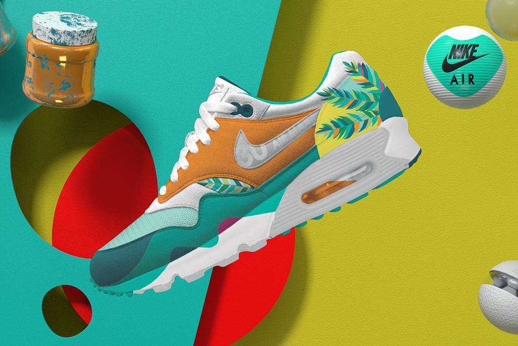 Nike Air Max 1 x Air Max 90