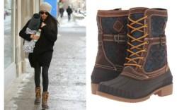 Meghan Markle wears Kamik Sienna Boots.