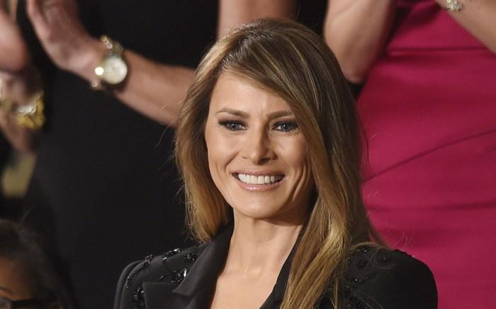 Melania Trump Outfit Congress Speech