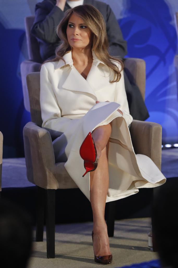 Melania Trump Christian Louboutin