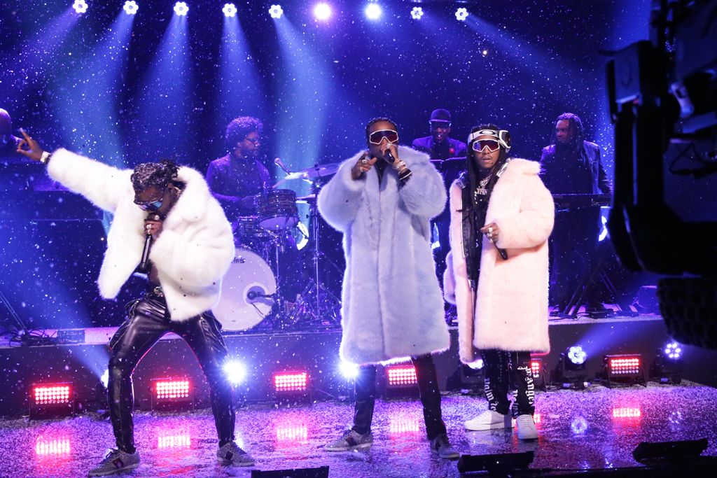 Migos Tonight Show Jimmy Fallon