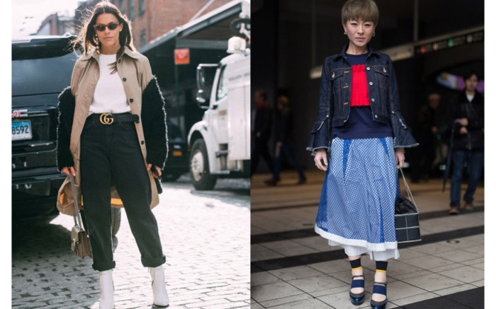 New York Tokyo Fashion Week Street Style