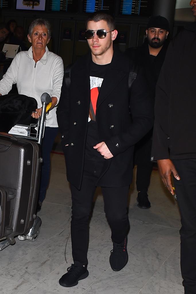 Nick Jonas Paris Fashion Week