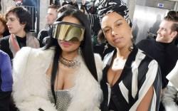 Nicki Minaj Alicia Keys Paris Fashion