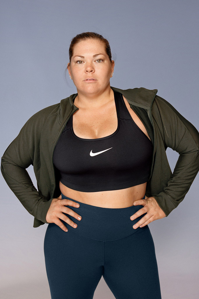 Armonioso gesto Asociar  Models Starring in Nike's Plus-Size Campaign Respond to Body Shamers –  Footwear News