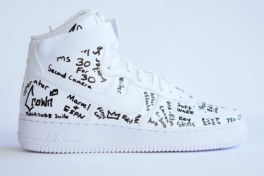 Custom Nike Air Force 1s