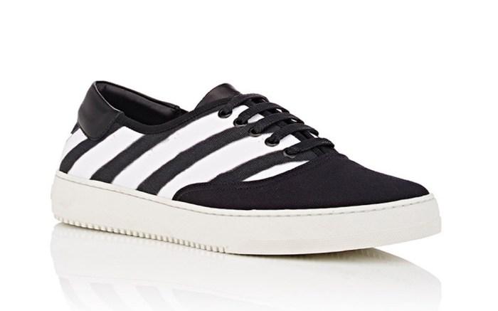 Off-White Striped Sneaker
