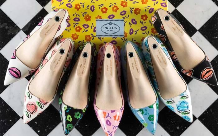 Prada new made to order styles.