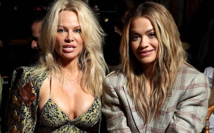 Paris Fashion Week Fall 2017: Pamela Anderson & Rita Ora Front Row