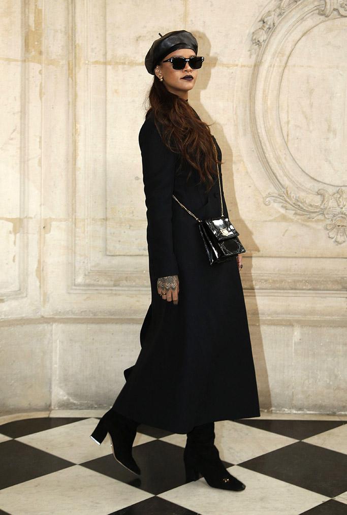 Rihanna Paris Fashion Week Front Row