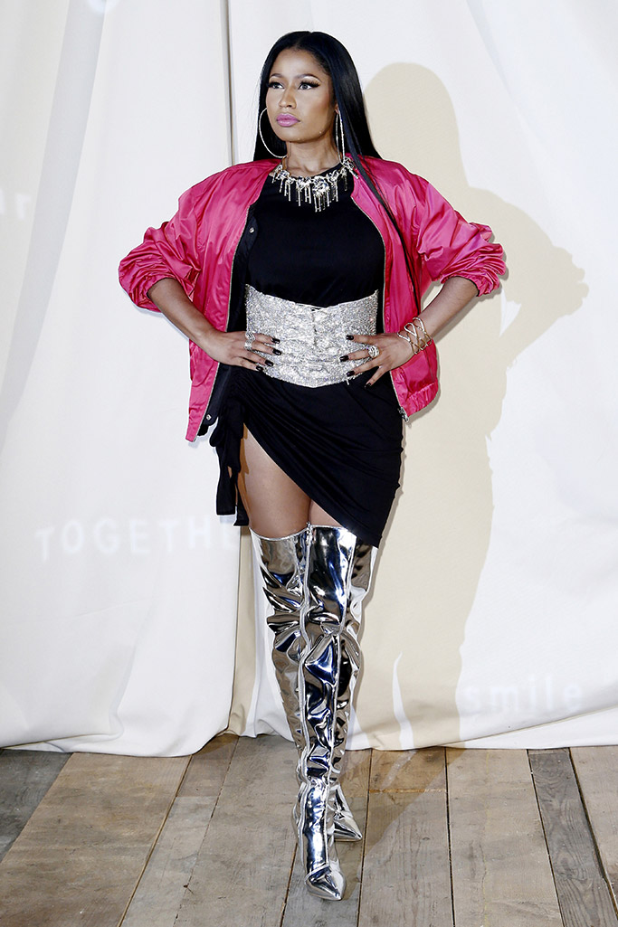 Nicki Minaj Paris Fashion Week Front Row