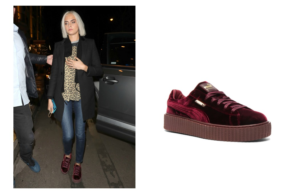 cara fenty by puma creepers
