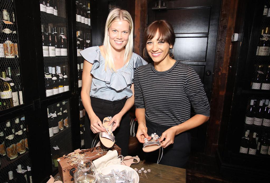 celebrities sandals rashida jones diy projects shoes Jenni Kayne west hollywood Loeffler Randall