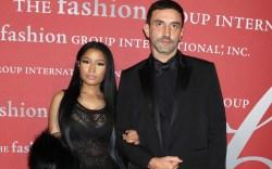 Nicki Minaj and Riccardo Tisci