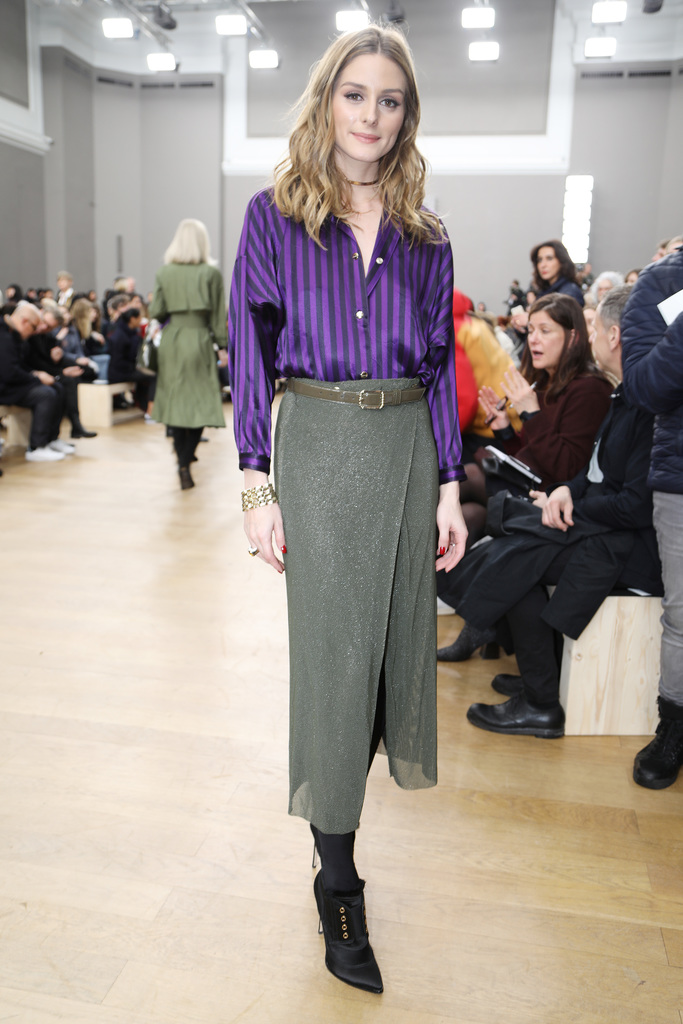 Olivia Palermo in the front rowNina Ricci show, Autumn Winter 2017, Paris Fashion Week, France - 04 Mar 2017