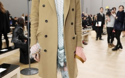 Celebrities in the Front Row at Paris Fashion Week
