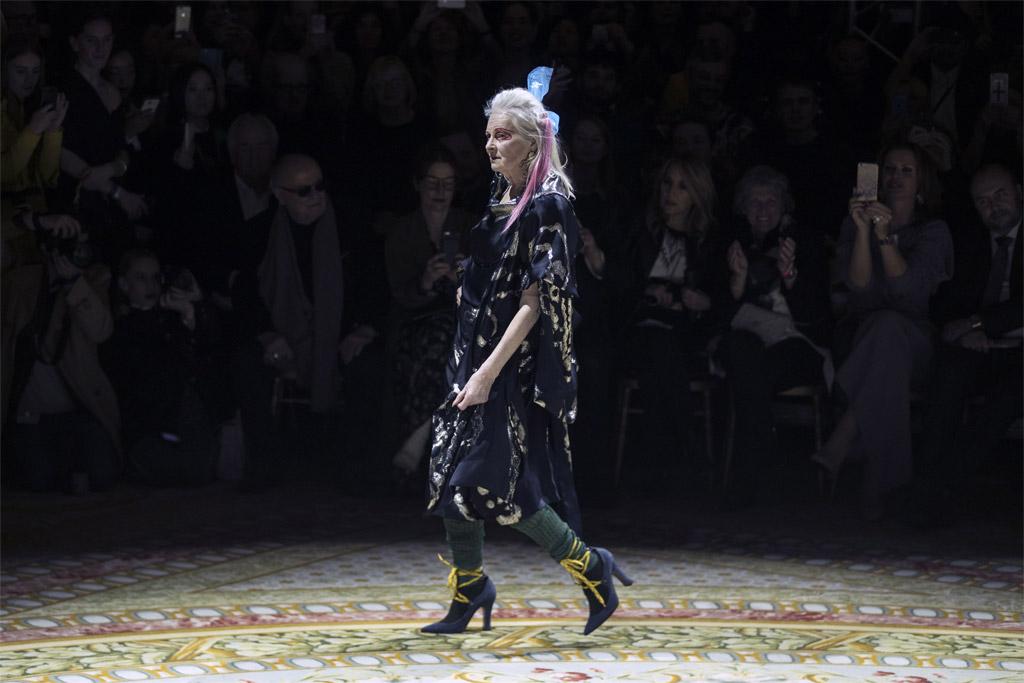 vivienne westwood paris fashion week fall 2017 runway designer