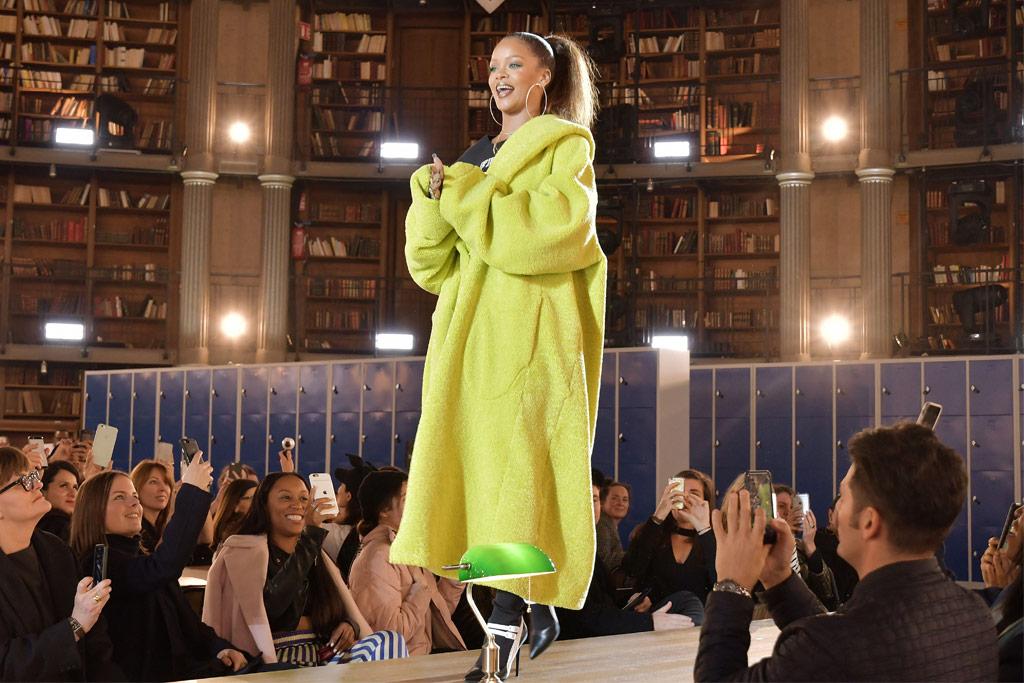 Fenty Puma Rihanna Paris Fashion Week