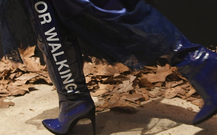 Off-White Paris Fashion Week fall 2017 bella hadid